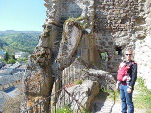 Me at Querigut castle