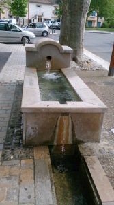 A fountain that I enjoy watching in Quillan