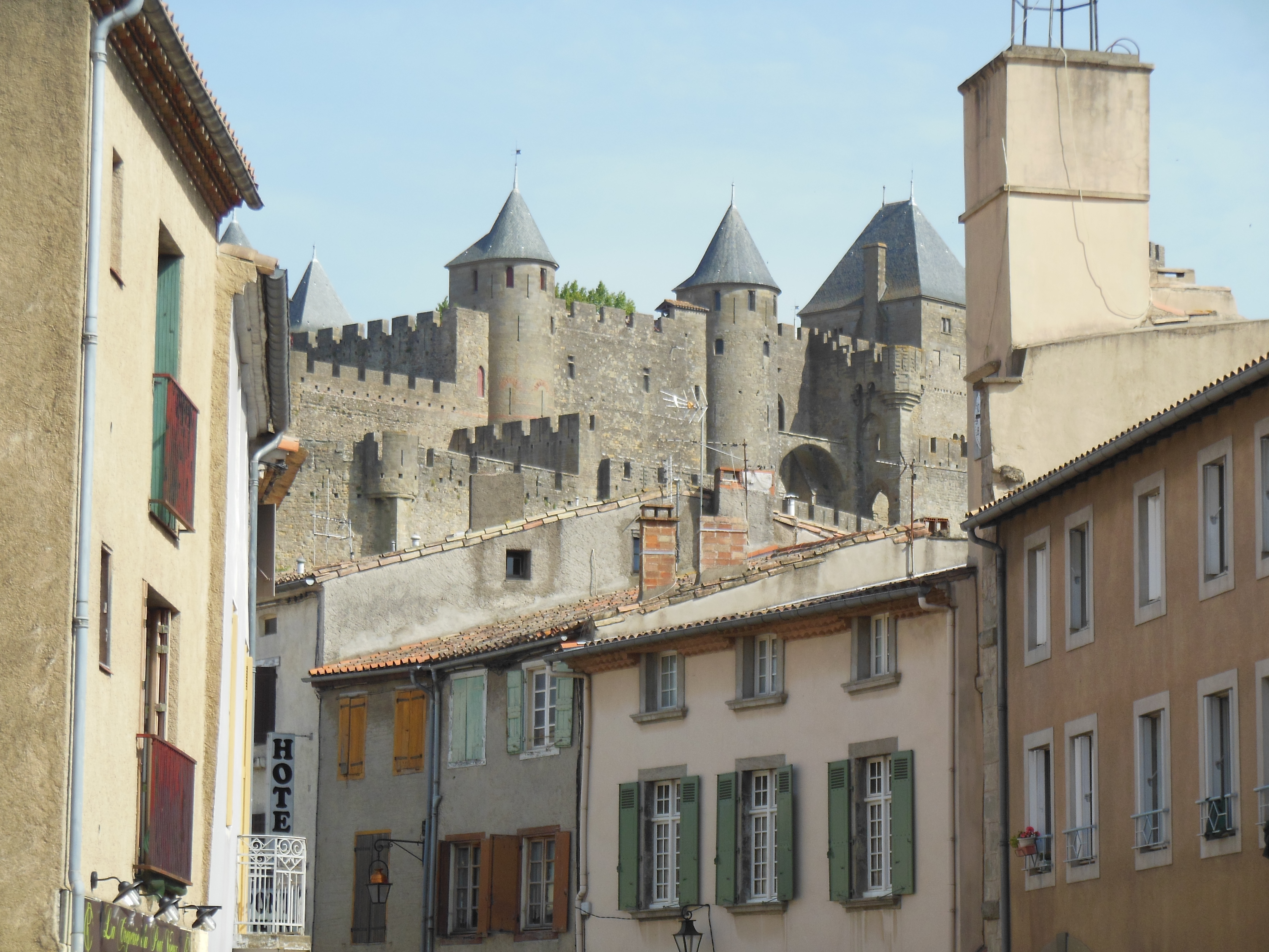 Carcassonne for a euro and 18 euros taxi fare putItOnTheSlate