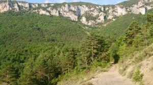 Cliffs above Ginoles