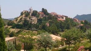 Cucugnan, near Queribus castle